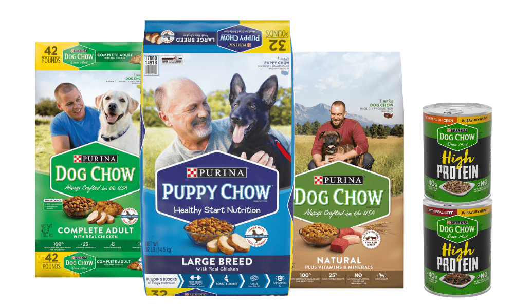 purina puppy chow products