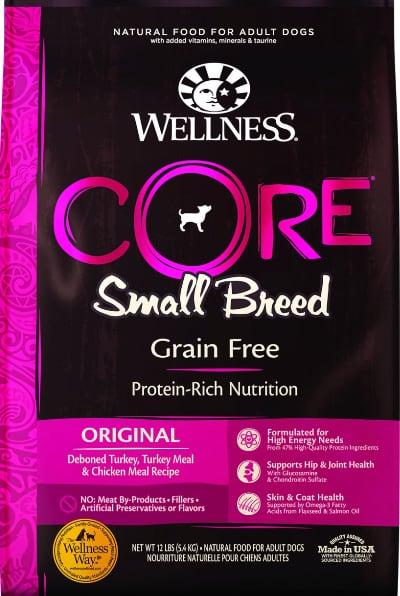 Wellness Core Grain-Free Small Breed Dog Food Turkey