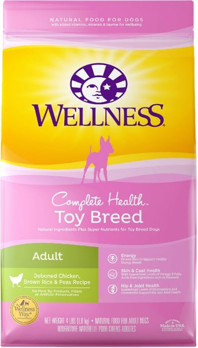 Wellness Toy Breed Complete Health Dog Food