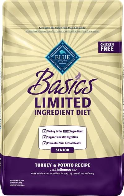 Blue Buffalo Basics LID Senior Turkey