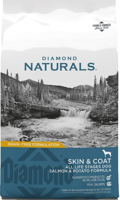Diamond Naturals Skin Coat Salmon