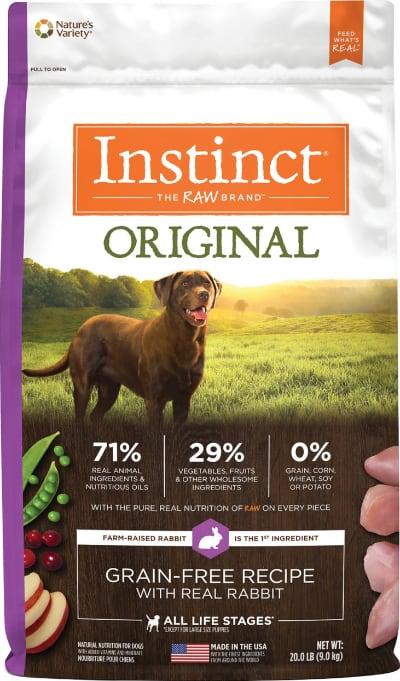 Instinct Original Grain-Free Recipe Rabbit