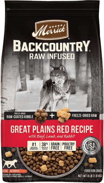 Merrick Backcountry Raw Great Plains Red Recipe