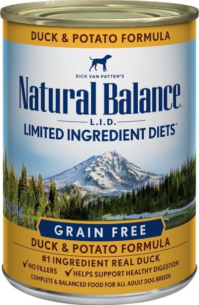 Natural Balance LID Grain Free Duck Canned