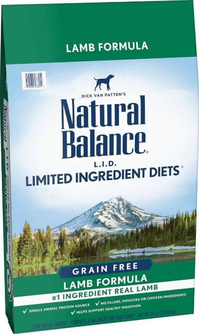 Natural Balance LID Grain Free Lamb