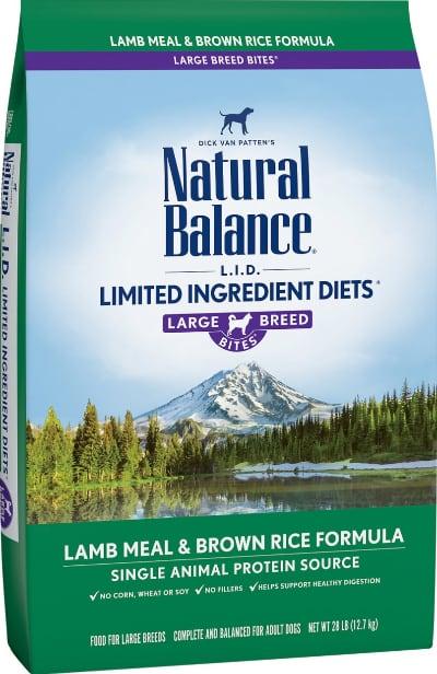 Natural Balance LID Large Breed Lamb