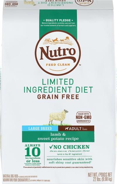 Nutro LID Grain-Free Adult Large Breed Lamb