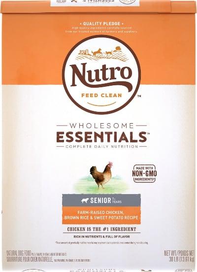 Nutro Wholesome Essentials Senior Chicken Dry