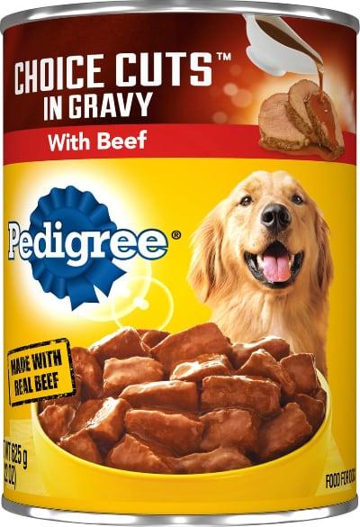 Pedigree Choice Cuts in Gravy Beef Wet