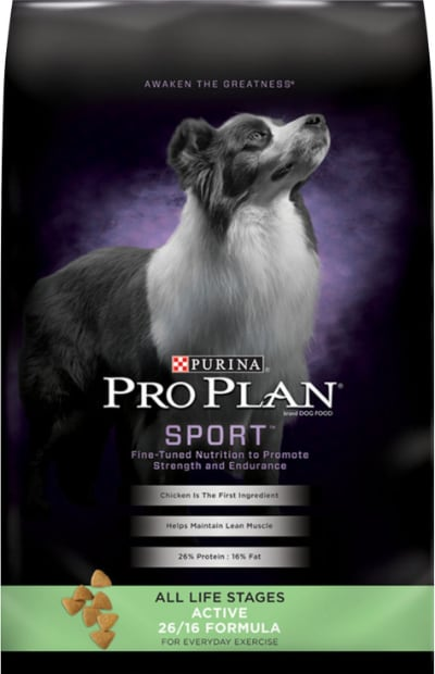 Purina Pro Plan Sport All Life Stages Active 26/16