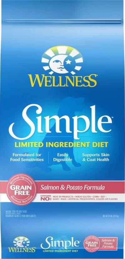 Wellness Simple LID Grain Free Salmon Adult