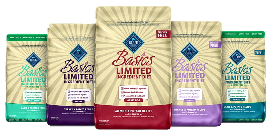 blue buffalo basics products