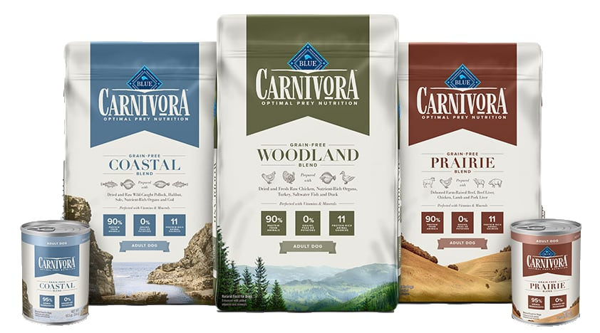 blue buffalo carnivora products