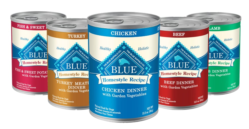 blue buffalo homestyle recipe products