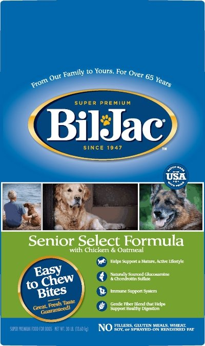 Bil-Jac Senior Select Chicken & Oatmeal Recipe