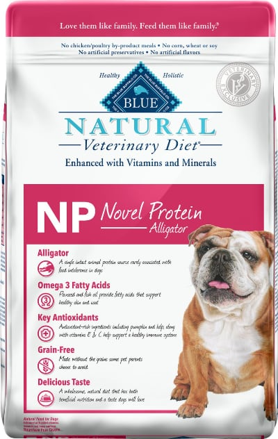 Blue Buffalo Natural Veterinary Diet NP Novel Protein Alligator