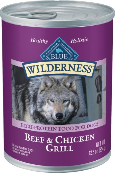 Blue Buffalo Wilderness Beef & Chicken Grill Canned