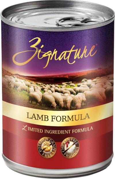 Zignature Lamb LID Canned