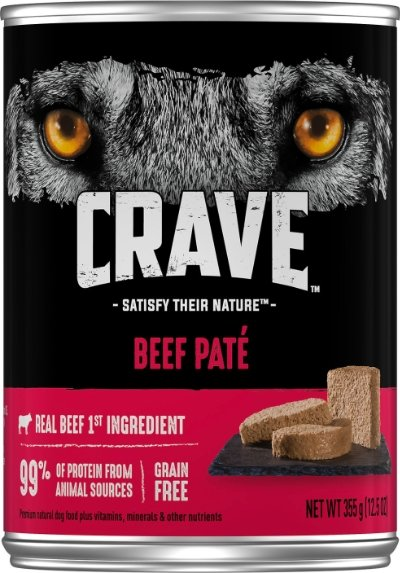 Crave Beef Pate Grain-Free Canned