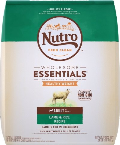 Nutro Wholesome Essentials Healthy Weight Adult Lamb