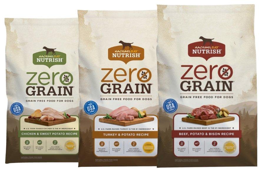 Rachael Ray Nutrish Zero Grain Food